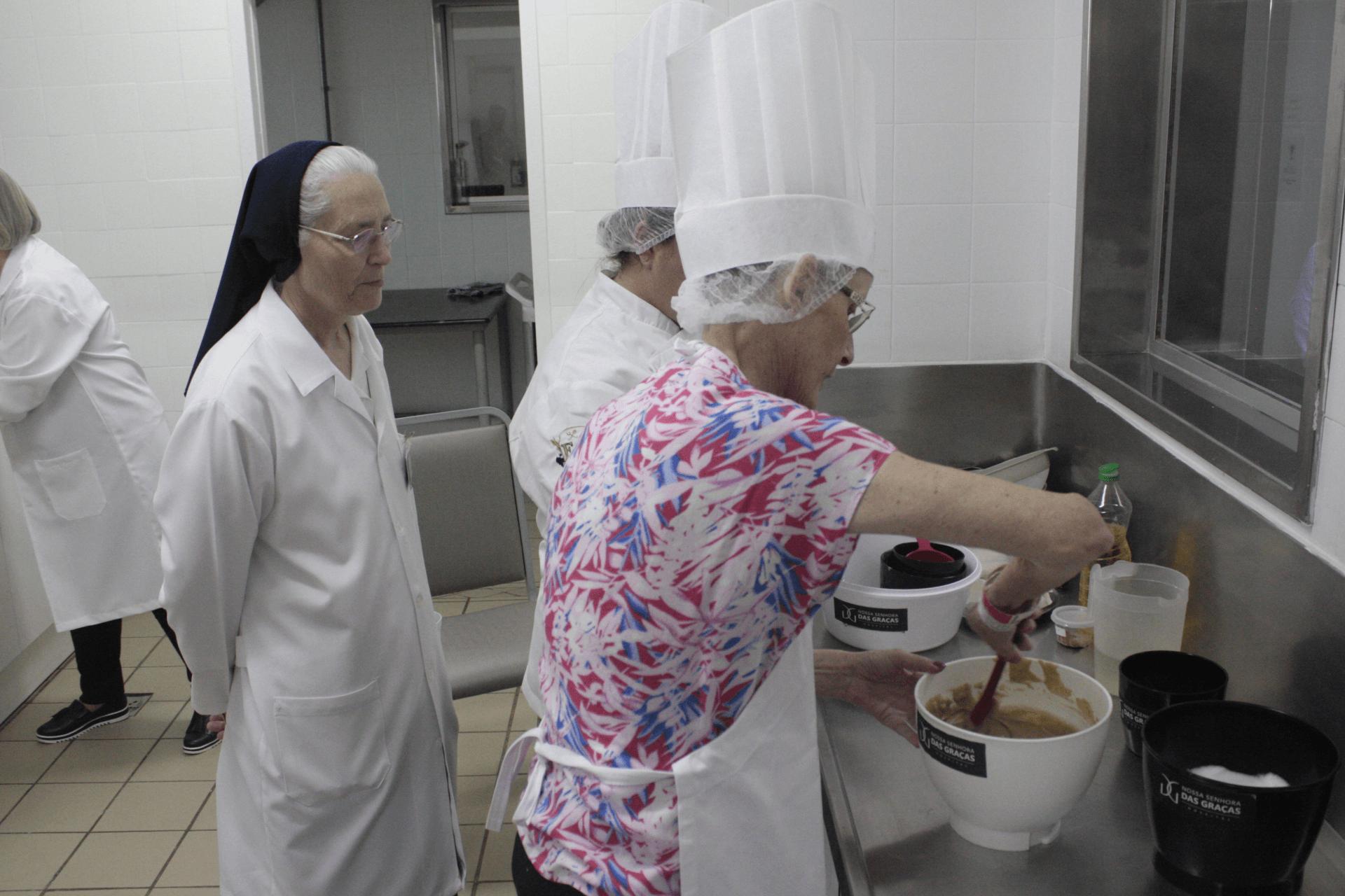 O bolo da Renanci - Hospital Nossa Senhora da Graça