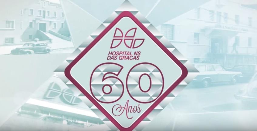 História dos 60 anos do HNSG - Hospital Nossa Senhora da Graça