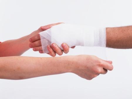 Cuidado com feridas - Hospital Nossa Senhora da Graça