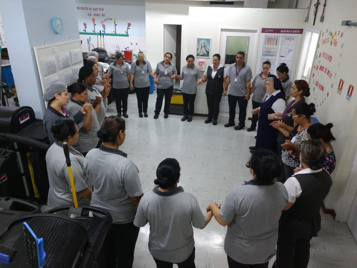 HNSG celebra o mês da Bíblia - Hospital Nossa Senhora da Graça