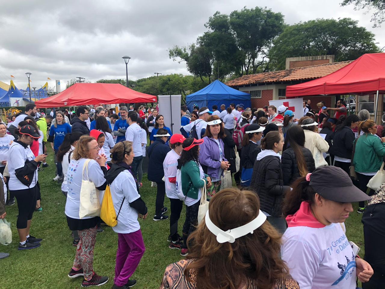 Parque Barigui recebe a 8ª Caminhada do Diabetes - Hospital Nossa Senhora da Graça