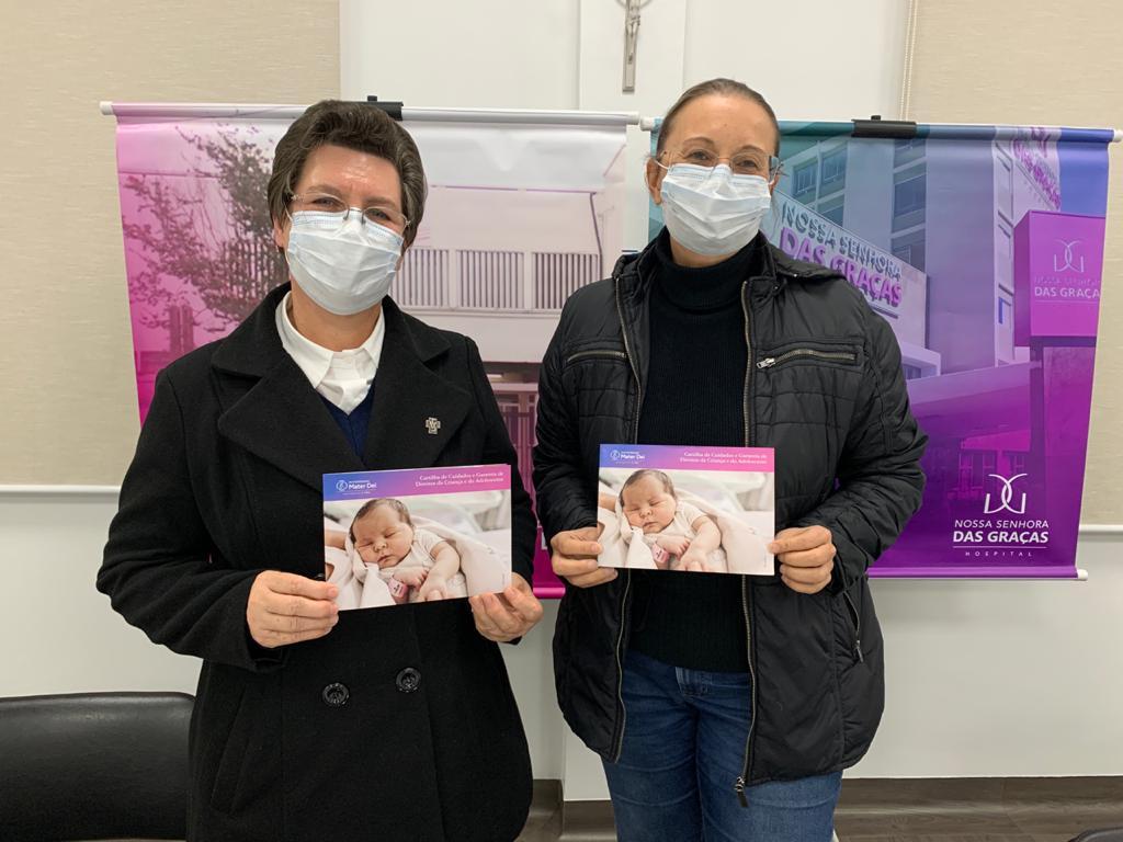 Mater Dei lança Cartilha de Cuidados e Garantia de Direitos da Criança e do Adolescente - Hospital Nossa Senhora da Graça